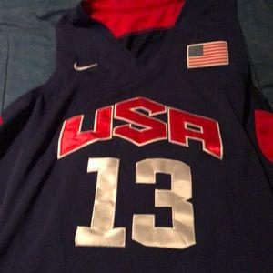 Chris Paul Team USA Official Jersey